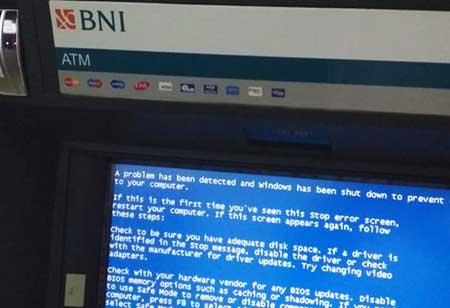 Penyebab Mesin ATM BNI Menampilkan Pesan Error