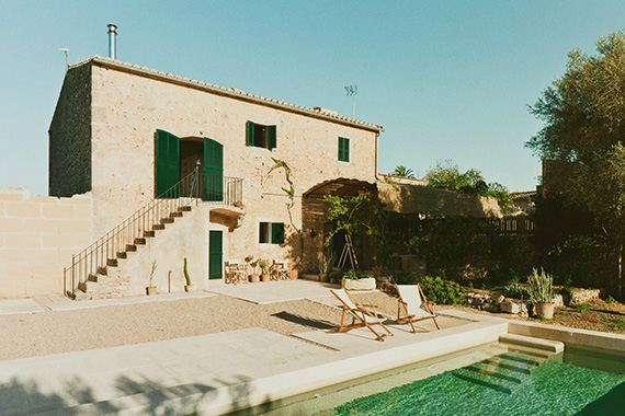 Family house in Es Llombards, Mallorca, design by SMS Arquitectos, photos by Salva López