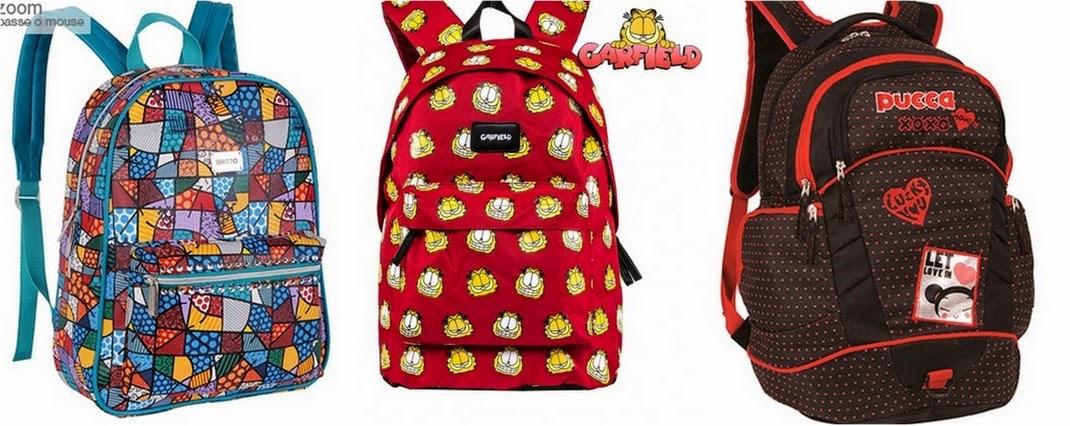 7f048c4cf Romero Britto (Americanas) Garfield (Americanas) Pucca (Americanas)