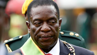 Zimbabwe President Emmerson Mnangagwa. PHOTO | Reuters