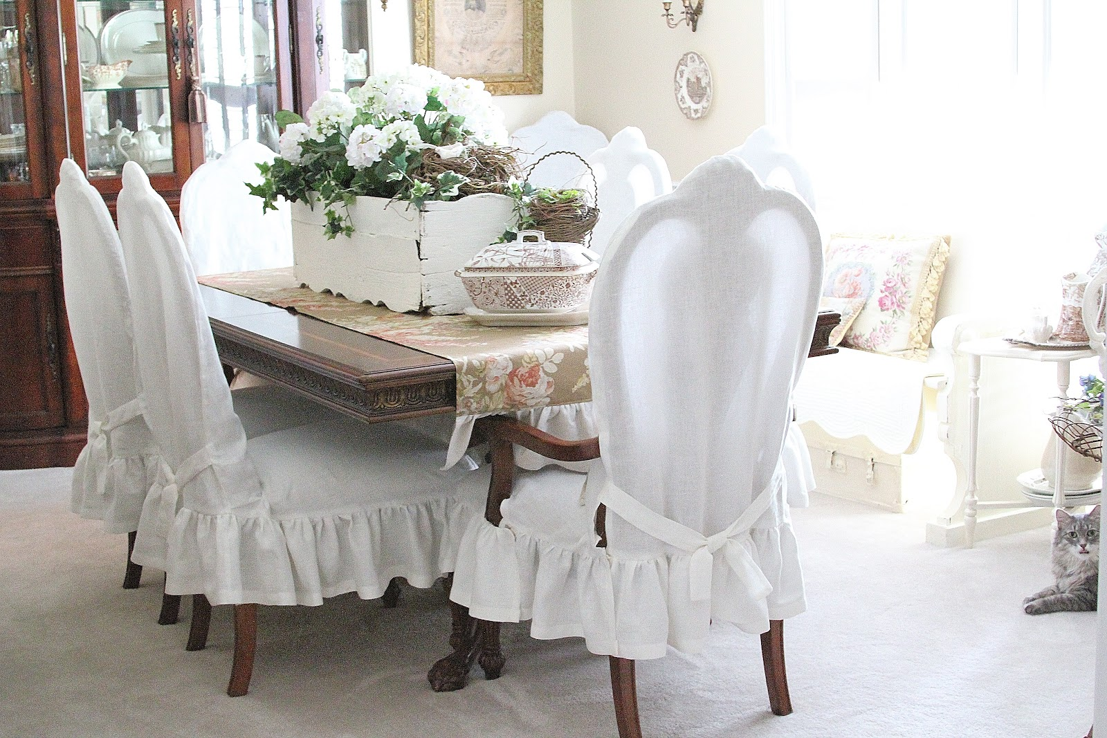 Common Ground Dining Chairs Slip Cover Reveal