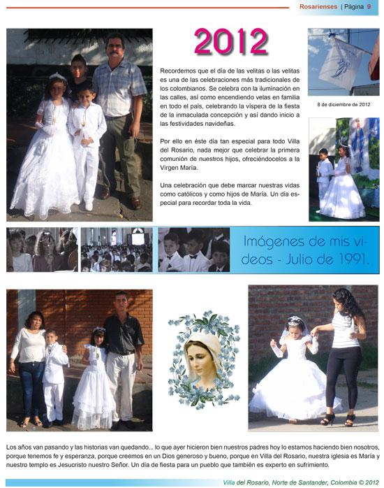 Primeras comuniones en Villa del Rosario – Especial de Rosarienses en Diciembre   Rosarienses, Villa del Rosario