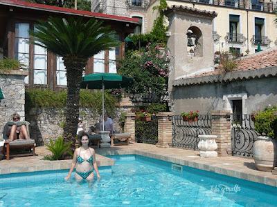 Hotel Villa Carlotta Taormina piscina