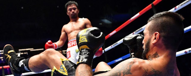 Manny Pacquiao's knock's Out  Lucas Matthysse