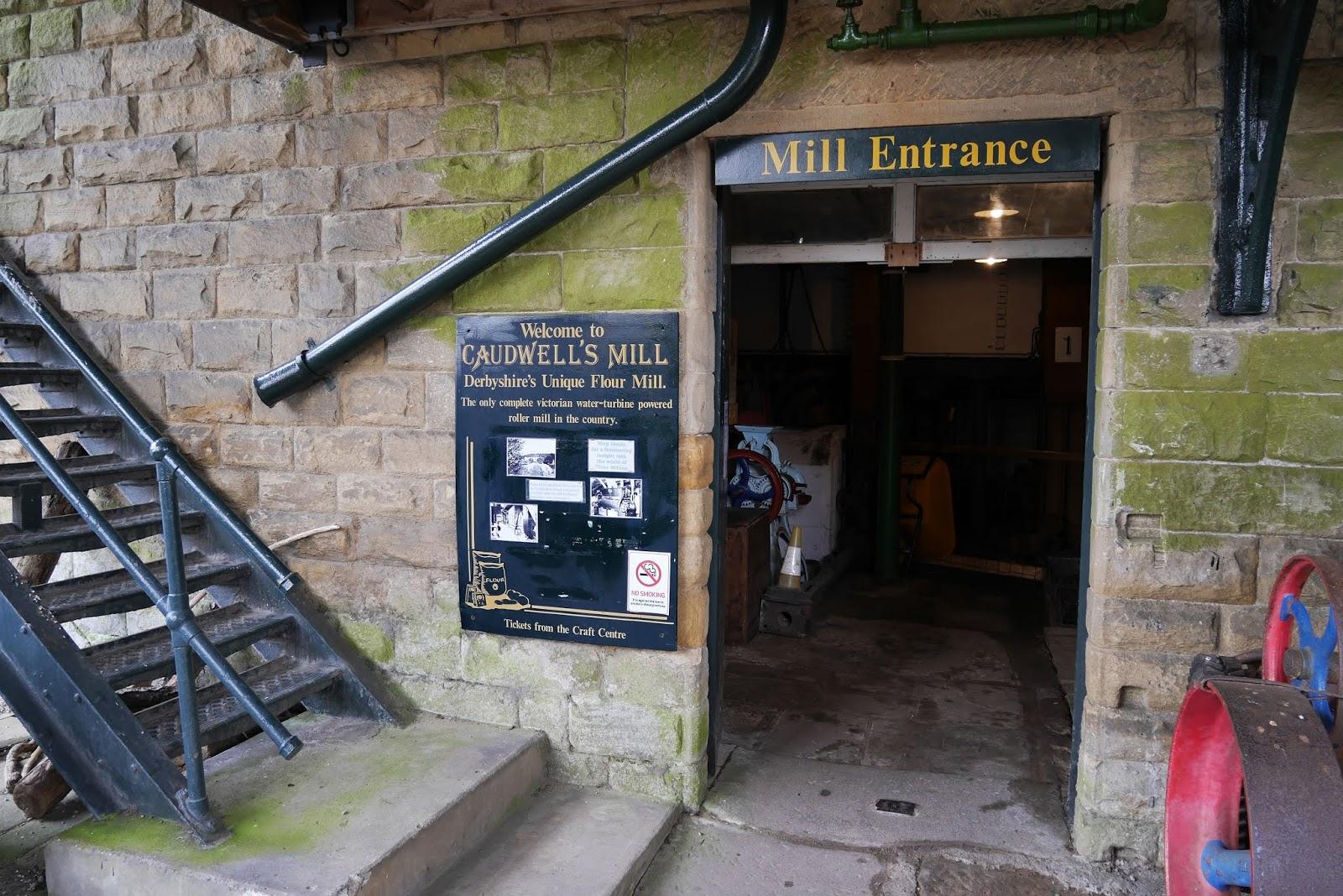 Caudwell's Mill, Peak District National Park