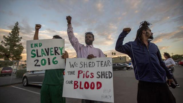 Protestas en EEUU tras muerte de afroamericano por la policía