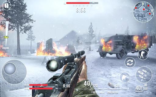 تحميل لعبة Call of Sniper WW2: Final Battleground v1.6.1 مهكرة وكاملة للاندرويد شراء مجانا