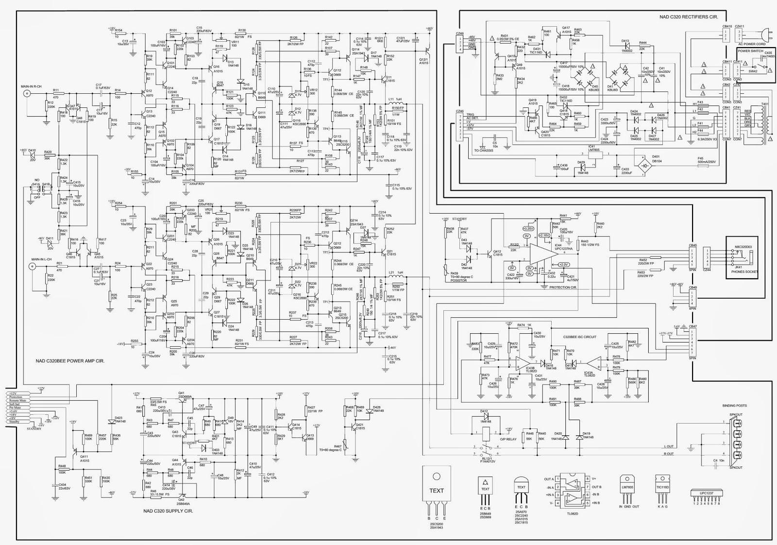 2sc5200 power amp circuit diagram