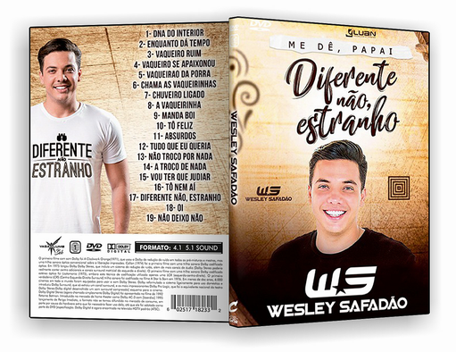 DVD – WESLEY DOS TECLADOS EM SP 2018 – ISO