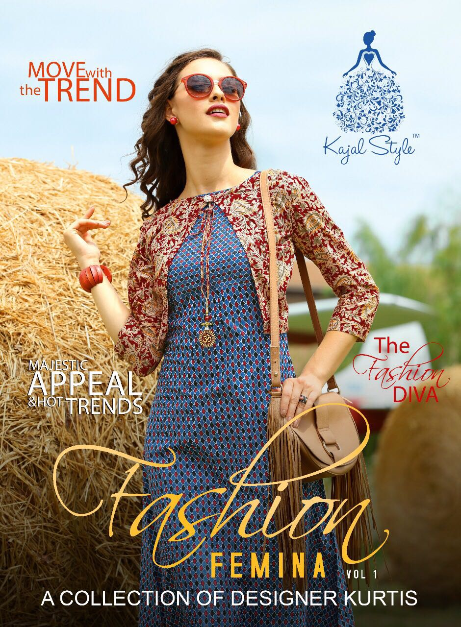 F.FEMINA vol-1-New Arrival Designer Rayon Kurti