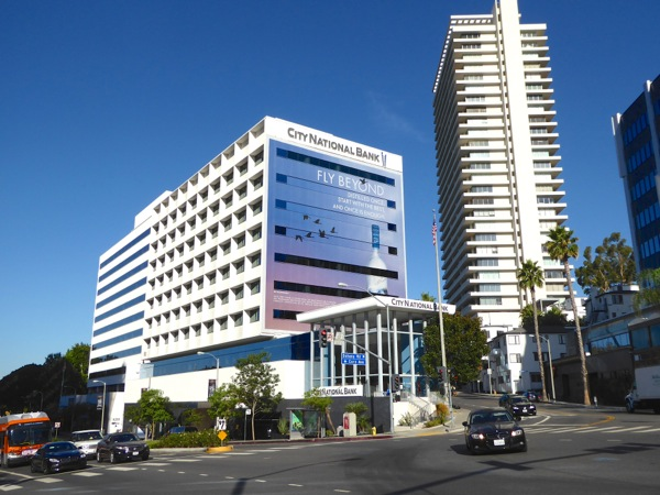 Giant Grey Goose Vodka Fly Beyond billboard Sunset Strip