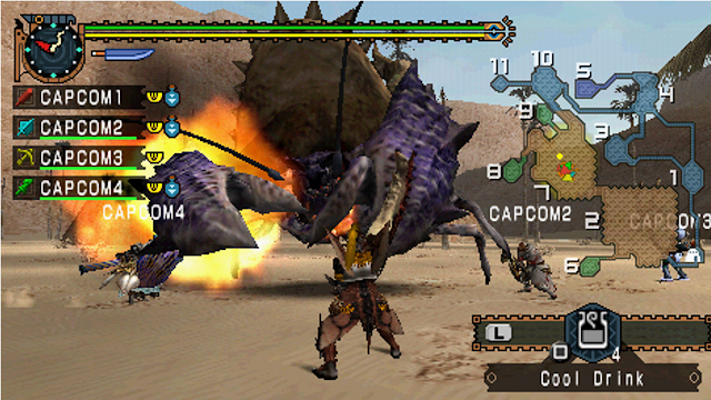 Rekomendasi 5 Game Berburu Monster Di PSP(Playstation Portable)