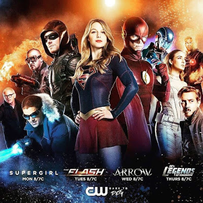 "Promo de la próxima temporada de Superhéroes de The CW - ""Arrow"", ""The Flash"", ""Supergirl"", ""Legends of Tomorrow"" y ""Black Lightning"" [Dc Comics]."