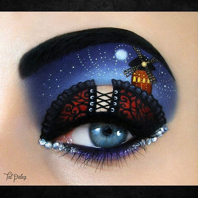 13-Moulin-Rouge-Paris-Tal-Peleg-Body-Painting-and-Eye-Make-Up-Art-www-designstack-co
