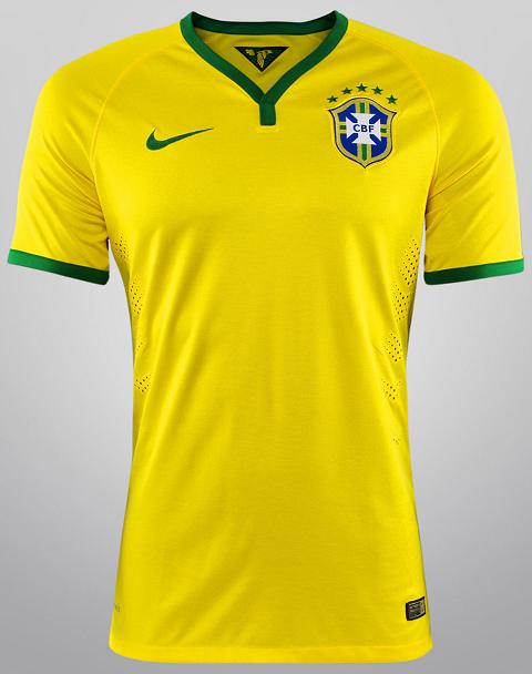 Copa do Mundo FIFA 2014 - Grupo A - Show de Camisas ec73878a26223
