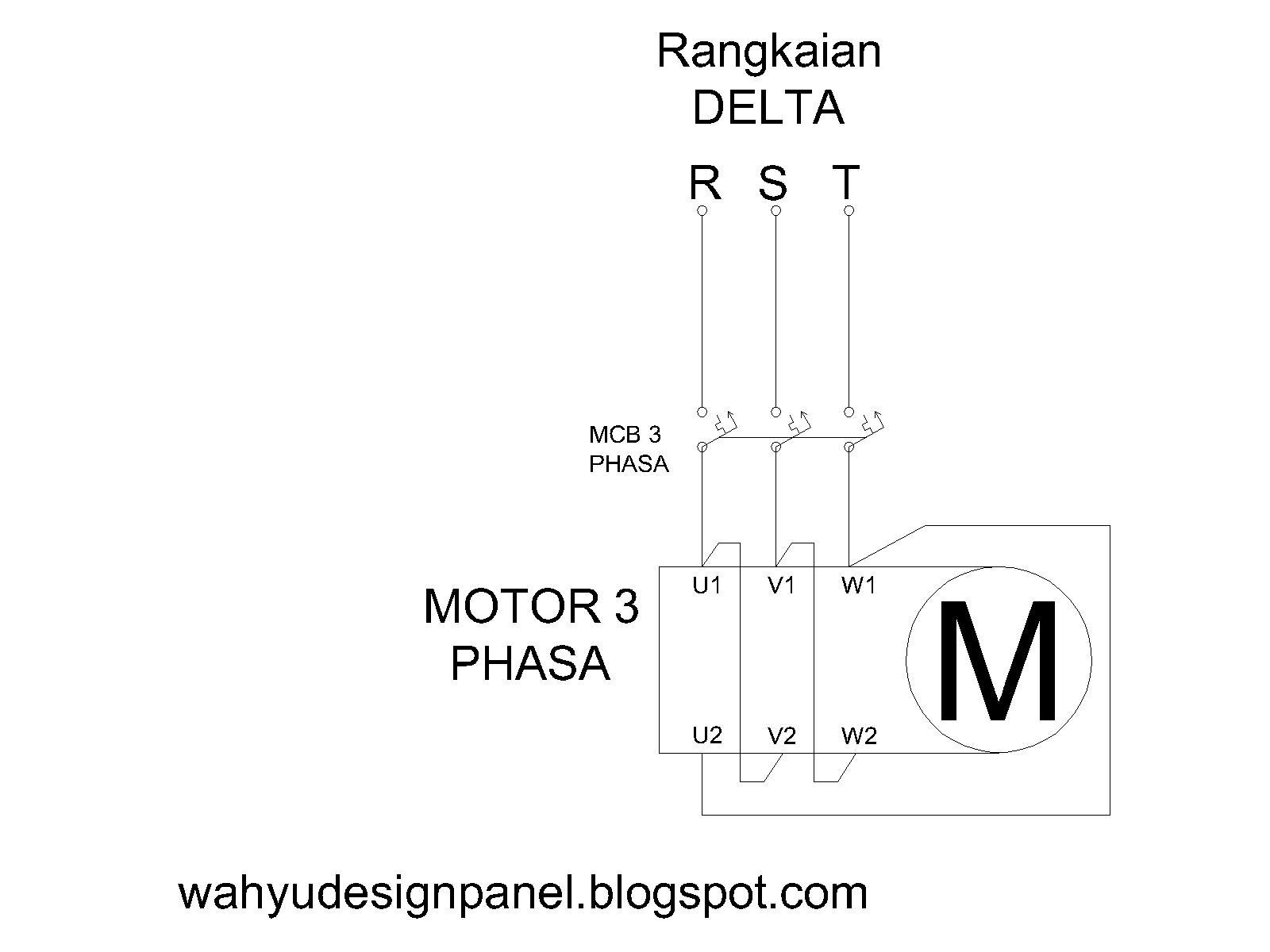 Rangkaian Panel Listrik (Kontrol & Utama): Rangkaiang