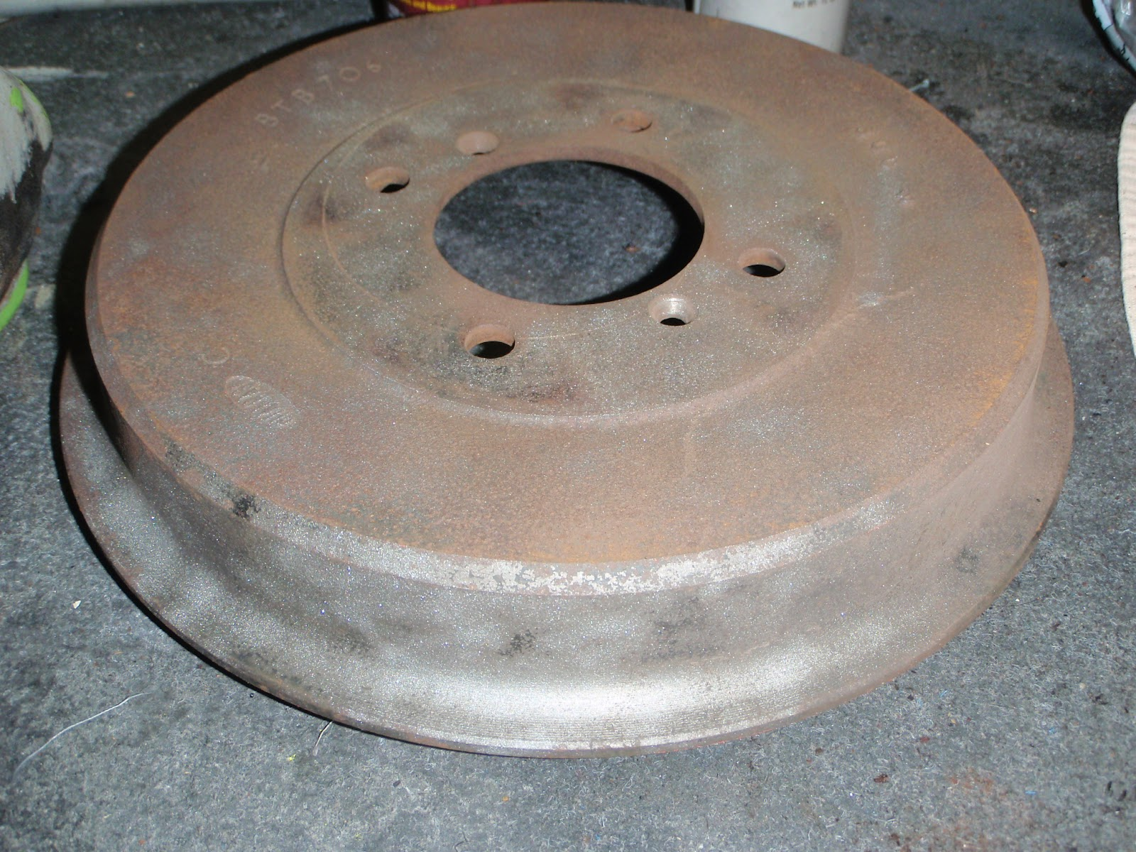 MGB in the Garage: Day 16, 17 brakes, floor prep, handbrake