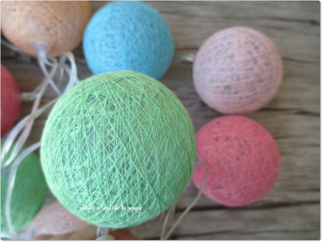 Primark - Guirnalda de colores, con formas circulares