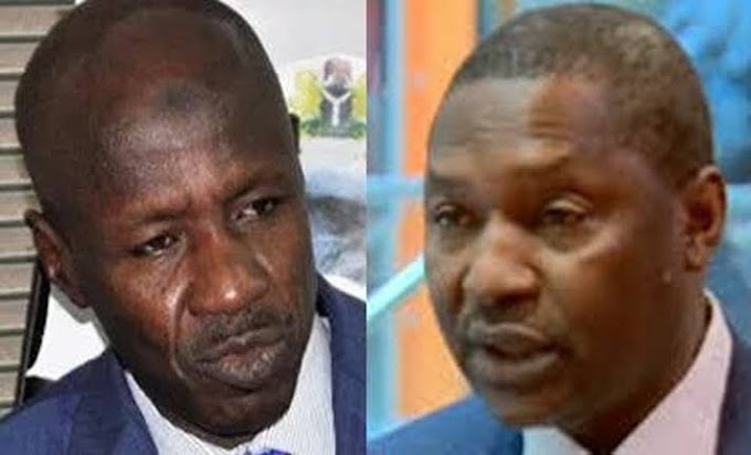 DIRTY SECRETS!!! Magu fights back, wants Presidential Panel to probe Malami over sale of seized assets.