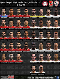 Facepack Egypt v1 Pes 2013 BY Mizo 199