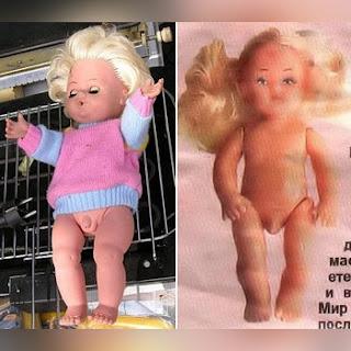 Muñecas lesbianas de Rusia