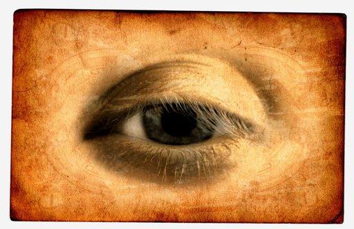 Particular of an eye, by Leonardo