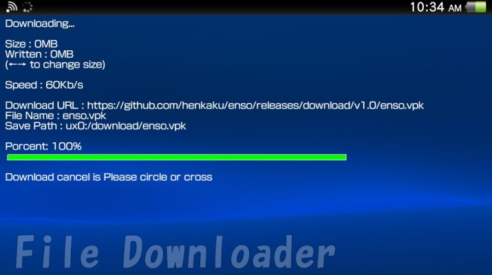 PSVITA] File Downloader v0 20 Released - MateoGodlike