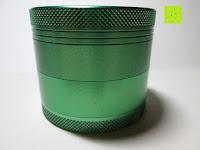 Seite: DCOU tabak schleifer Alu tobacco grinder tabak spice herb pollen anlage gras mühle 4 schichten aluminium crusher - Ø55mm H48mm grün