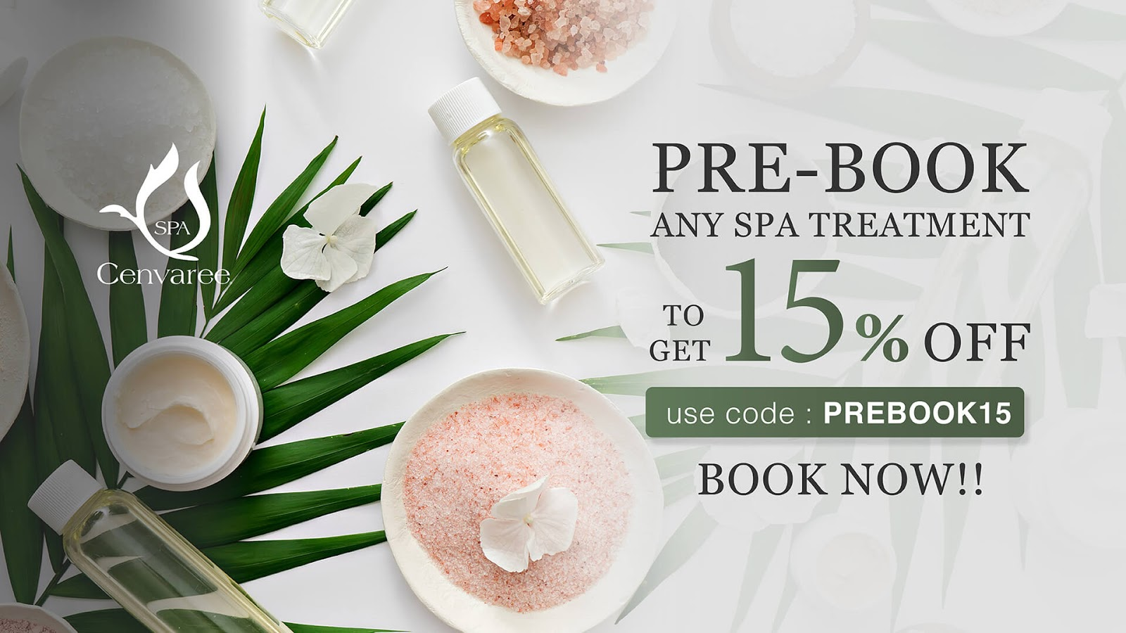 Hotelier Indonesia Spa and Wellness : SPA Cenvaree Spa Best Deals