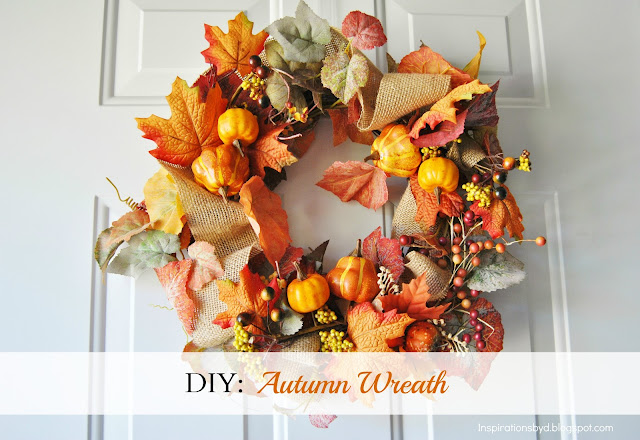 DIY: Autumn Wreath