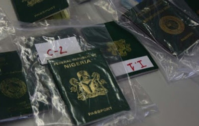 Some seized Nigerian passports held as evidence