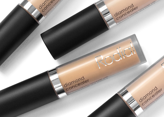 Rodial Diamond Concealer Luminous Creamy Review Swatches Photos 10 30 40 50 MAC Equivalents Before After