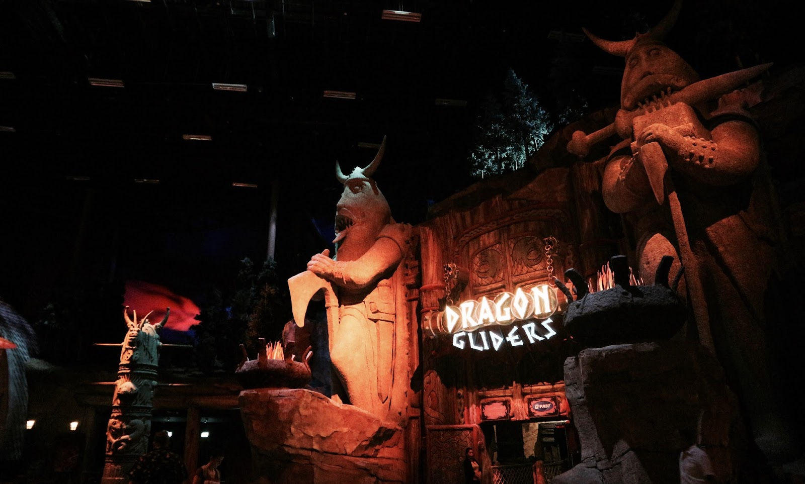 Image Of Dragon Gliders Ride Entrance Motiongate