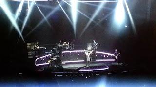 Pendant le concert, photo prise par moi-même