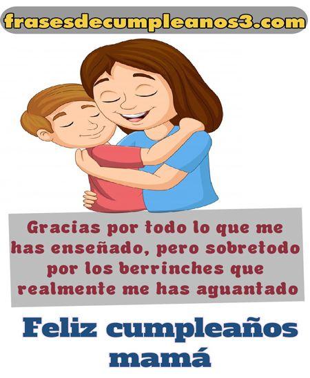 Deseos de cumpleaños para tu mamita linda