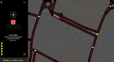 Pacman Maps Pesce Aprile