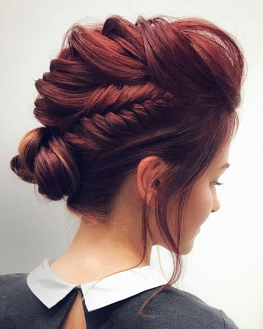 Red-updo-bride-hairstyle