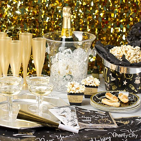 Anyone Can Decorate: New Years Eve - Decorating Ideas