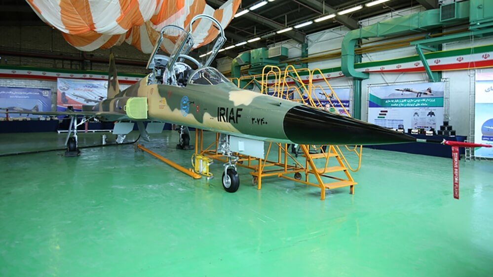 Iran Revealed A New Domestically Built Fighter Jet 'Kowsar'