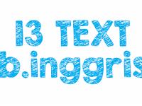 Penjelasan 13 Jenis Text Dalam Bahasa Inggris Lengkap
