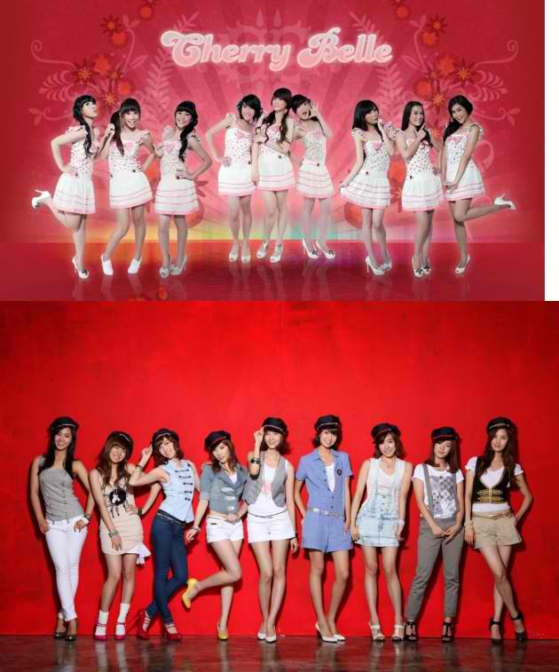 Cherry Belle Indonesia: Adinda's Blog: SNSD VS Cherry Belle?