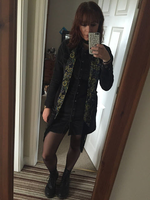 paisley scarf, docs & obsessive buying