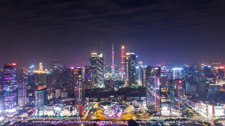 Lokasi dan Tempat Menarik di Guangzhou, China