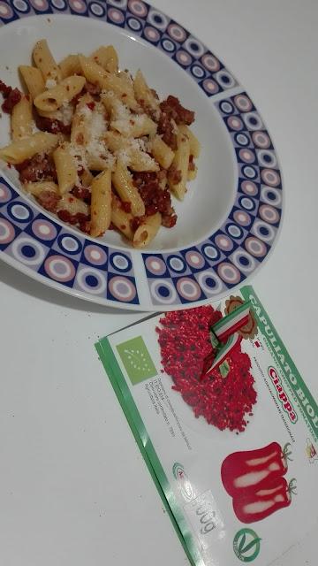 cosa cucino stasera: pennette al ragù bianco con ciappa pomodori ... - Cosa Cucino Domenica