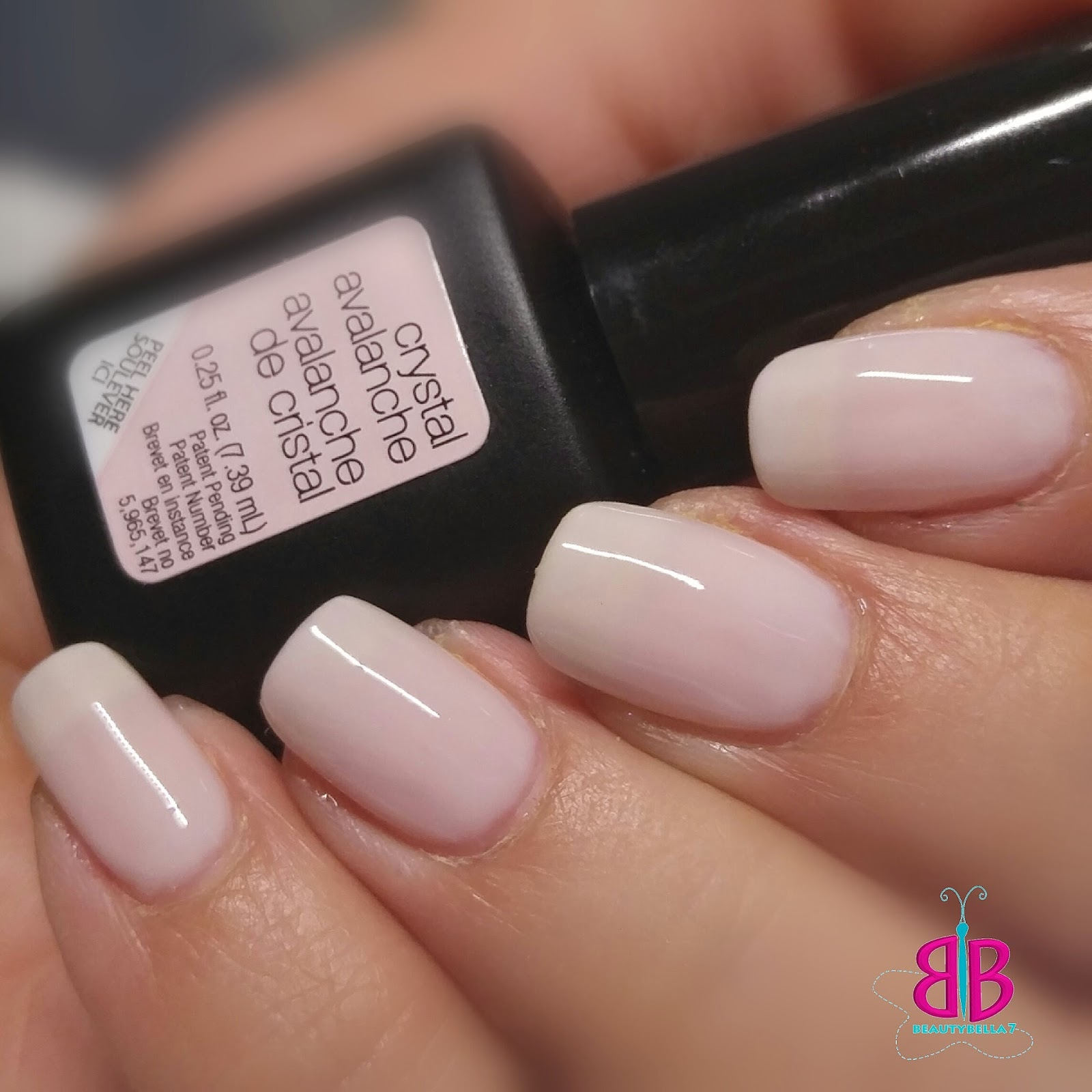 Crystal Gel Nail Video: BeautyBella7: Sensationail Gel Swatches