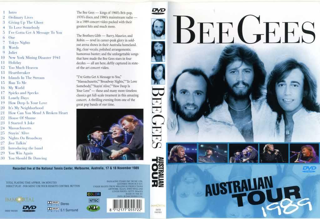The Bee Gees Australian Tour DVD-R The 2BBee 2BGees 2BAustralian 2BTour 2BDVD R 2B  2BXANDAODOWNLOAD