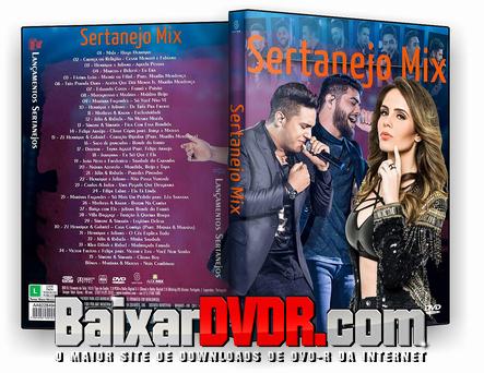 Sertanejo Mix (2017) DVD-R