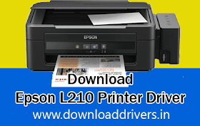 Download Epson L210 printer driver for windows, Mac & Linux