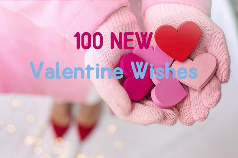 100 Lovely Valentine Days Wishes