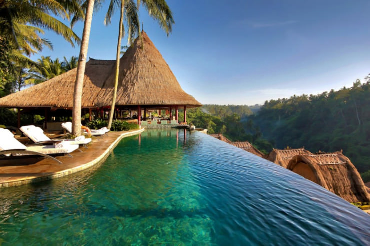 29 Most Amazing Infinity Pools in Pictures - The Viceroy Bali, Ubud, Bali, Indonesia